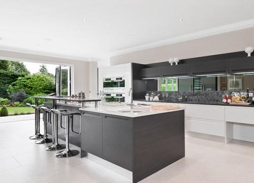 Mirrors for backsplash in kitchens