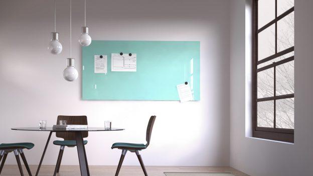 magnetic glass board