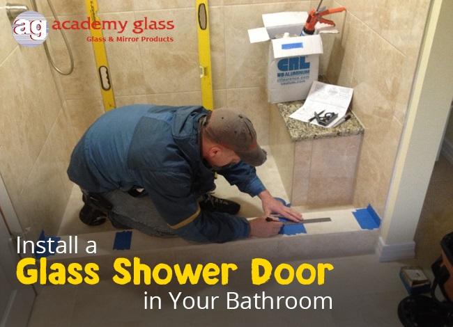 Install a Glass Shower Door