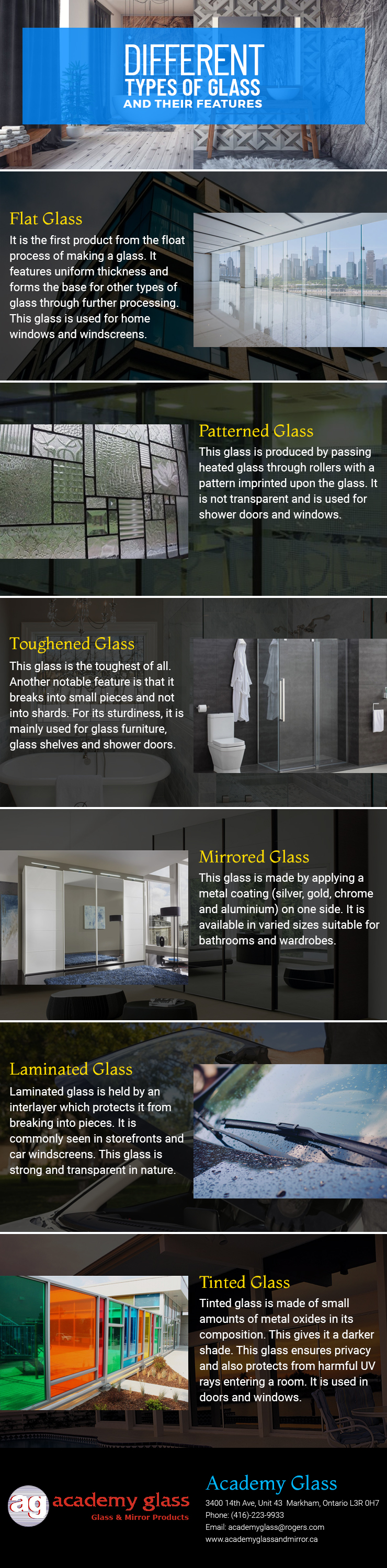 infographic - Academy Glass