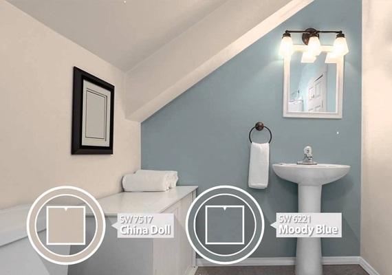 Choose neutral wall paint