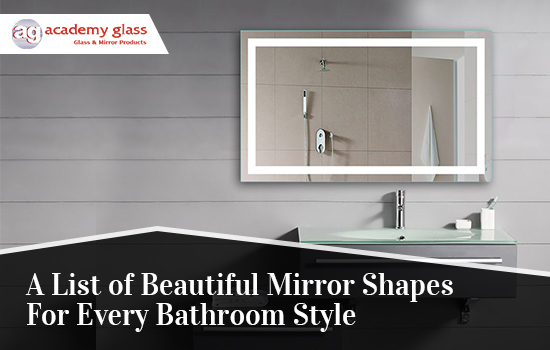A List of Beautiful Mirror Shapes for Every Bathroom