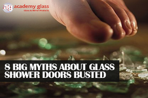 8 Big Myths About Glass Shower Doors Busted