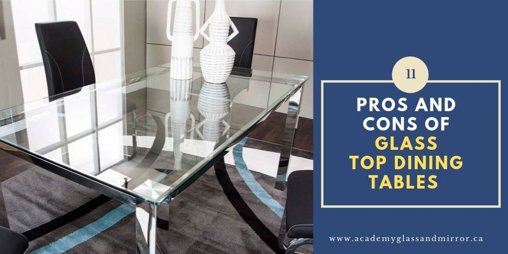 Pros And Cons Of Glass Dining Room Tables, Glass Top Dining Room Table