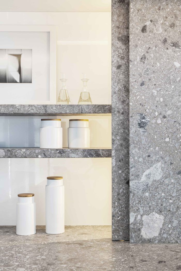 Terrazzo walls and floors