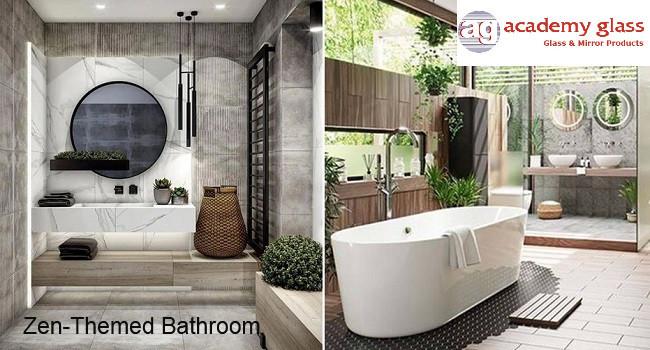 zen-themed bathroom