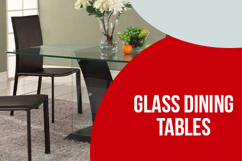 Glass -Dining-Table